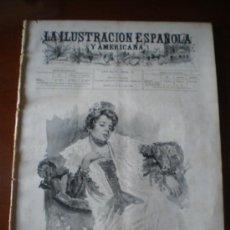 Coleccionismo de Revistas y Periódicos: ILUSTRACION ESPAÑOLA/AMERICANA (15/01/02) CASTELAR MARQUES DE ALTA VILLA UNAMUNO CORDOBA MARCONI . Lote 35268002