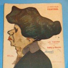 Coleccionismo de Revistas y Periódicos: REVISTA DEL AÑO 1918. TEATRO. LA NOVELA TEATRAL. TIZONA, GODOY Y ALARCÓN . Lote 35270991