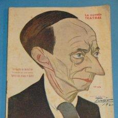 Coleccionismo de Revistas y Periódicos: REVISTA DEL AÑO 1920. TEATRO. LA NOVELA TEATRAL. LA SUERTE DE SALUSTIANO, TORRES DEL ÁLAMO. . Lote 35271173