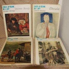 Coleccionismo de Revistas y Periódicos: 2275- CHEFS DOEUVRE DE L'ART. REVISTA DE ARTE EN FRANCES ILUSTRADA. EDIT. HACHETTE. 1968/1969. 30 Nº. Lote 35283713