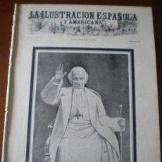 Coleccionismo de Revistas y Periódicos: ILUSTRACION ESPAÑOLA/AMERICANA (22/07/03) PAPA LEON XIII ROMA. Lote 35304008