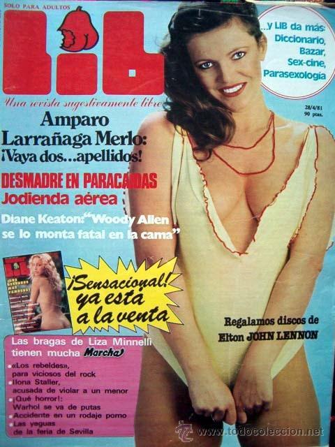 Revista Lib Nº 236 Amparo Larrañaga Diane Ke Sold Through