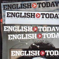 Coleccionismo de Revistas y Periódicos: ENGLISH TODAY, LOTE DE 53 FASCICULOS ( FASCICULOS EN INGLES ). Lote 35316392