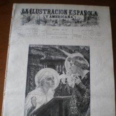Coleccionismo de Revistas y Periódicos: ILUSTRACION ESPAÑOLA/AMERICANA (22/03/03) MURILLO SPORT FUTBOL UNCETA ZORRILLA CHARTRES. Lote 35351004