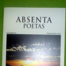 Coleccionismo de Revistas y Periódicos: ABSENTA POETAS Nº8;PRIMAVERA 2011;ABSENTA 2011;¡NUEVA!. Lote 35366751