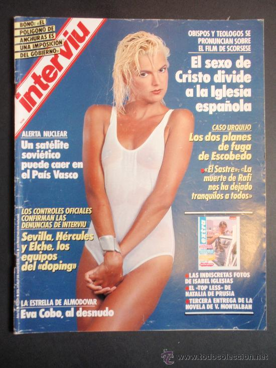Revista Interviu Nº 641eva Cobo Desnuda Sold Through Direct Sale