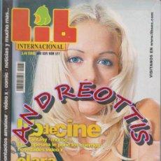 Coleccionismo de Revistas y Periódicos: LIB INTERNACIONAL, AÑO XXVI, N. 577; CLARA MORGANE. Lote 35414365