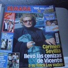 Coleccionismo de Revistas y Periódicos: REVISTA SEMANA. . Lote 35415709
