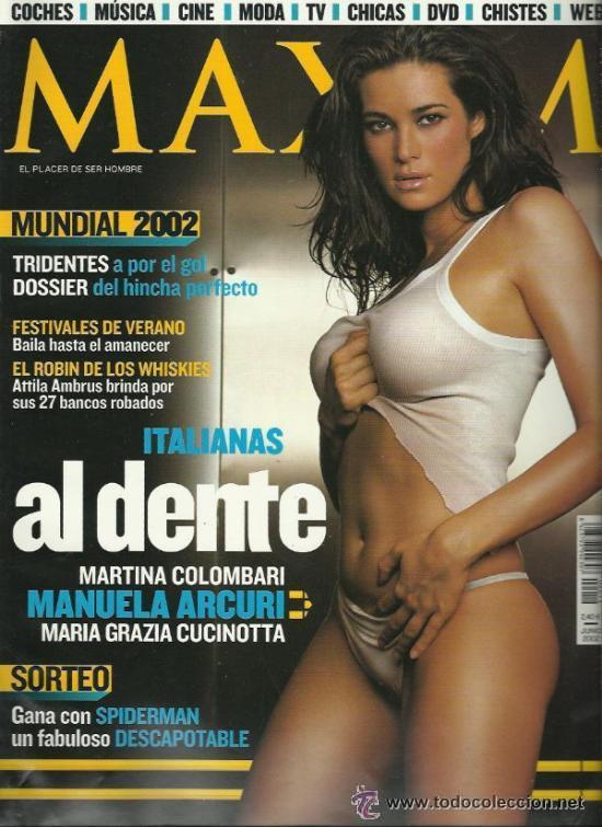 Manuela arcuri dance group in lingerie Maxim Nº 19 Cucinotta Manuela Arcuri Colombari Sold Through Direct Sale 35418116