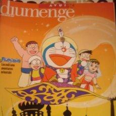 Coleccionismo de Revistas y Periódicos: AVUI. DIUMENGE.JUNY 2001. DORAEMON. Lote 35430870