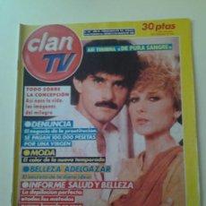 Coleccionismo de Revistas y Periódicos: CLAN TV ASI TERMINA DE PURA SANGRE TELENOVELA. Lote 35505129