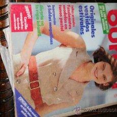 Coleccionismo de Revistas y Periódicos: REVISTA BURDA MAYO 1990 . Lote 35452150