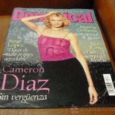 Coleccionismo de Revistas y Periódicos: REV. DOMINICAL 3/2000 CAMERON DIAZ AMPL.REPTJE.ROBERT SMITH,JUAN PERRO,MARTHA GELLHORN,J.PUIGCORBÉ. Lote 126345752