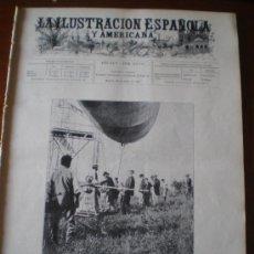 Coleccionismo de Revistas y Periódicos: ILUSTRACION ESPAÑOLA/AMERICANA (22/07/01) FERROL ARMADA CORDOBA DIRIGIBLE SANTOS DUMONT RETES. Lote 35500536
