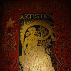 Coleccionismo de Revistas y Periódicos: LA ILUSTRACIÓN ARTÍSTICA, PERIÓDICO SEMANAL, GRABADOS, 1895, TM XIV, DEL Nº 680 AL 730, BARCELONA. Lote 35509256