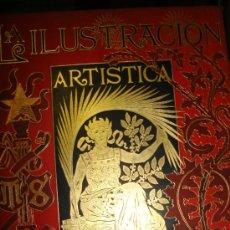 Coleccionismo de Revistas y Periódicos: LA ILUSTRACIÓN ARTÍSTICA, PERIÓDICO SEMANAL, GRABADOS, 1894, TM XIII, DEL Nº 627 AL 678, BARCELONA. Lote 35509277