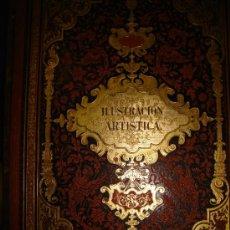 Coleccionismo de Revistas y Periódicos: LA ILUSTRACIÓN ARTÍSTICA,PERIÓDICO SEMANAL,GRABADOS,1888, TM VII, DEL Nº 314 AL 365, BARCELONA. Lote 35509360