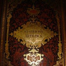 Coleccionismo de Revistas y Periódicos: LA ILUSTRACIÓN ARTÍSTICA,PERIÓDICO SEMANAL,GRABADOS,1887, TM VI, DEL Nº 262 AL 313, BARCELONA. Lote 35509384