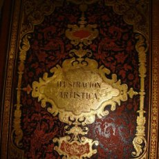 Coleccionismo de Revistas y Periódicos: LA ILUSTRACIÓN ARTÍSTICA,PERIÓDICO SEMANAL,GRABADOS,1885, TM IV, DEL Nº 158 AL 209, BARCELONA. Lote 35509408