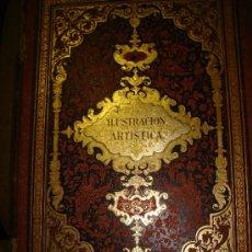 Coleccionismo de Revistas y Periódicos: LA ILUSTRACIÓN ARTÍSTICA,PERIÓDICO SEMANAL,GRABADOS,1886, TM V, DEL Nº 210 AL 261, BARCELONA. Lote 35509441