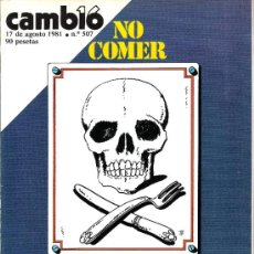 Coleccionismo de Revistas y Periódicos: CAMBIO16 - 1981 - CALVO SOTELO. Lote 35576935