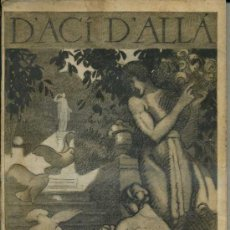 Coleccionismo de Revistas y Periódicos: REVISTA D' ACÍ D' ALLÀ MAIG 1918 - EN CATALÁN. Lote 35522146