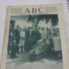 Coleccionismo de Revistas y Periódicos: EJEMPLAR DIARIO ABC . 4 DE JUNIO 1921. Lote 35523214