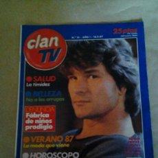 Coleccionismo de Revistas y Periódicos: CLAN TV PATRICK SWAYZE. Lote 35553976