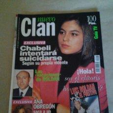 Coleccionismo de Revistas y Periódicos: NUEVO CLAN CHABELI ROLDAN ANA OBREGON. Lote 35569029