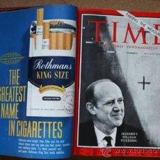 Coleccionismo de Revistas y Periódicos: TIME. THE WEEKLY NEWSMAGAZINE. SEGUNDO SEMESTRE DE 1965, FALTANDO SÓLO UN NÚMERO.. Lote 35548638