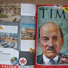 Coleccionismo de Revistas y Periódicos: TIME. THE WEEKLY NEWSMAGAZINE. SEGUNDO SEMESTRE DE 1954, FALTANDO 10 NÚMEROS PARA ESTAR COMPLETO.. Lote 35548649