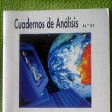 Coleccionismo de Revistas y Periódicos: CUADERNOS DE ANÁLISIS Nº31-DELITOS DE INTOLERANCIA EN INTERNET;¡NUEVA!. Lote 35549670