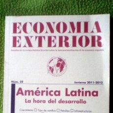 Coleccionismo de Revistas y Periódicos: ECONOMÍA EXTERIOR;Nº59;INVIERNO 2011-2012;AMÉRICA LATINA,LA HORA DEL DESARROLLO;¡NUEVA!. Lote 35549792
