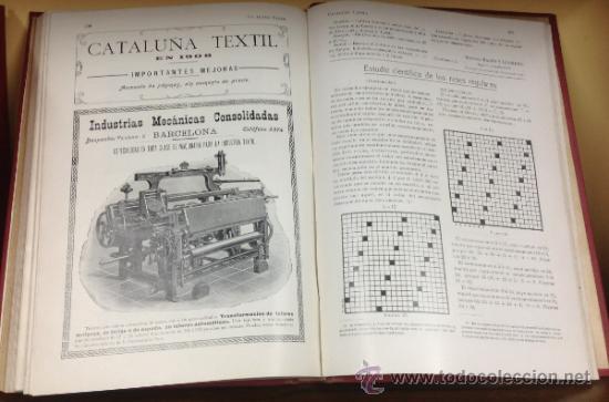 Coleccionismo de Revistas y Periódicos: CATALUÑA TEXTIL. REVISTA DE INDUSTRIAS TEXTILES Y SUS AUXILIARES. XXXI TOMOS. 1906-1937. COMPLETA. - Foto 10 - 35572589