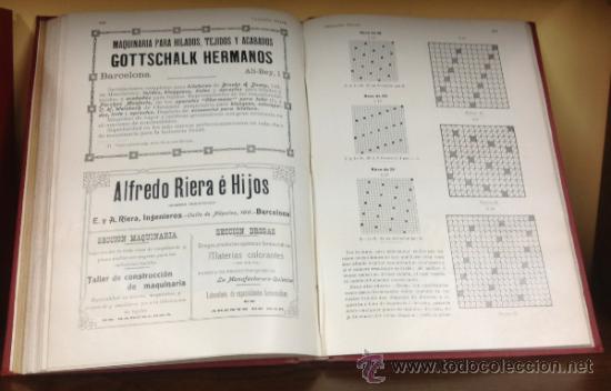 Coleccionismo de Revistas y Periódicos: CATALUÑA TEXTIL. REVISTA DE INDUSTRIAS TEXTILES Y SUS AUXILIARES. XXXI TOMOS. 1906-1937. COMPLETA. - Foto 9 - 35572589