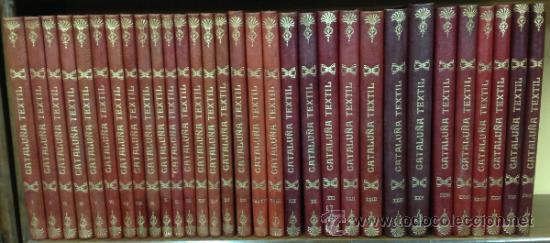 Coleccionismo de Revistas y Periódicos: CATALUÑA TEXTIL. REVISTA DE INDUSTRIAS TEXTILES Y SUS AUXILIARES. XXXI TOMOS. 1906-1937. COMPLETA. - Foto 3 - 35572589