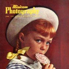 Coleccionismo de Revistas y Periódicos: REVISTA MINICAM PHOTOGRAPHY - JUNIO 1949. Lote 35600730