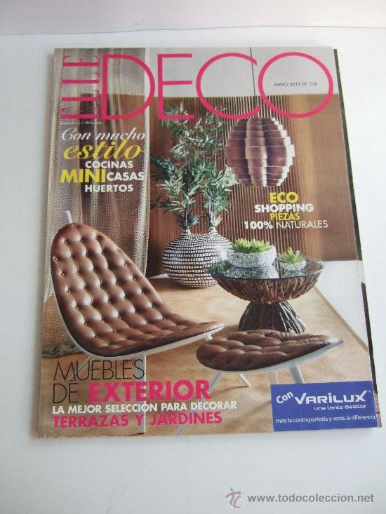 deco elle revista decoracion mayo n cocinas mini casas huertos muebles exterior with el mueble revista de decoracion