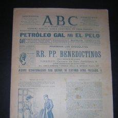 Coleccionismo de Revistas y Periódicos: JUNIO 1905 - ABC - AZORIN: IMPRESIONES PARLAMENTARIAS. Lote 35650232