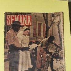 Coleccionismo de Revistas y Periódicos: REVISTA SEMANA DEL 1941. Lote 35674132