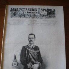 Coleccionismo de Revistas y Periódicos: ILUSTRACION ESPAÑOLA/AMERICANA (15/08/00) PARIS CHINA MONZA ITALIA . Lote 35682412