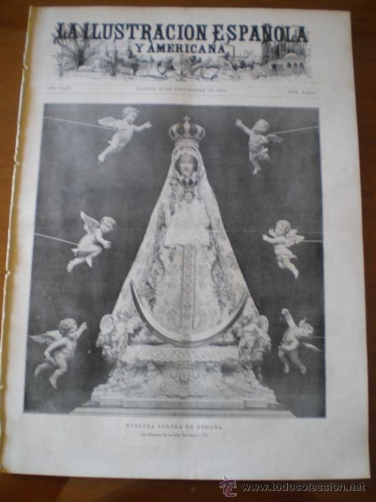 ILUSTRACION ESPAÑOLA/AMERICANA (22/09/00) SANTADER BILBAO MADRID CLAUDIO MOYANO PARIS (Coleccionismo - Revistas y Periódicos Antiguos (hasta 1.939))