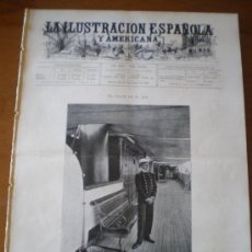 Coleccionismo de Revistas y Periódicos: ILUSTRACION ESPAÑOLA/AMERICANA (30/09/00) FERROL SEGOVIA ALSONSO XIII PARIS MARTINEZ CAMPOS. Lote 35692002
