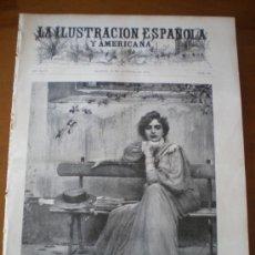 Coleccionismo de Revistas y Periódicos: ILUSTRACION ESPAÑOLA/AMERICANA (30/10/00) ZARAGOZA AMERGIO HAES ALVAREZ QUINTERO GARATE . Lote 35694104
