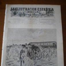 Coleccionismo de Revistas y Periódicos: ILUSTRACION ESPAÑOLA/AMERICANA (22/11/00) OPORTO MADRID ROMA PARIS DAX SAN PANTALEON. Lote 35694452