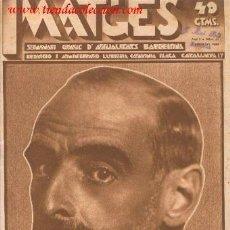 Coleccionismo de Revistas y Periódicos: IMATGES. SEMANARI GRAFIC D'ACTUALITATS BARCELONA. ANY I NÚM. 22.. Lote 35739159