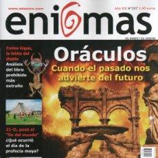 Coleccionismo de Revistas y Periódicos: ENIGMAS N. 207 - EN PORTADA: ORACULOS (NUEVA). Lote 55711752