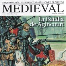 Coleccionismo de Revistas y Periódicos: REVISTA MEDIEVAL N. 43 - EN PORTADA: LA BATALLA DE AGINCOURT (NUEVA). Lote 49221784