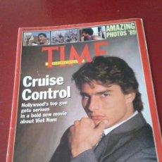Coleccionismo de Revistas y Periódicos: TIME MAGAZINE PORTADA Y REPORTAJE PRINCIPAL DEDICADO A TOM CRUISE CRUISE CONTROL. Lote 35800817