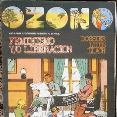 Coleccionismo de Revistas y Periódicos: OZONO - Nº 6 AÑO 2 DICIEMBRE 1975/ENERO 1976. Lote 35810216
